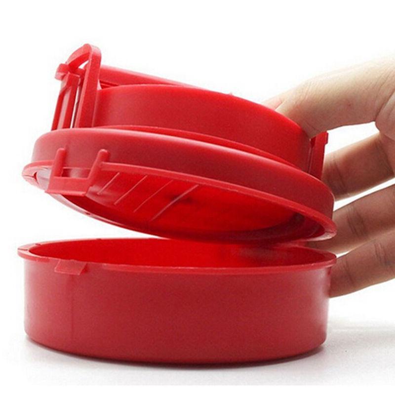 Red Hamburger Meat Production Press Patty Machine Utensili da cucina per fai da te