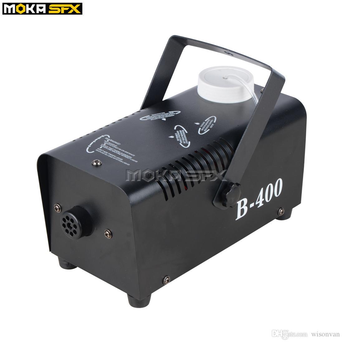 Moka MK-F09 DJ Stage Smoke Fog Effect Machine 400W UpSpray Fogger Wireless Remote Control for Stage Effect