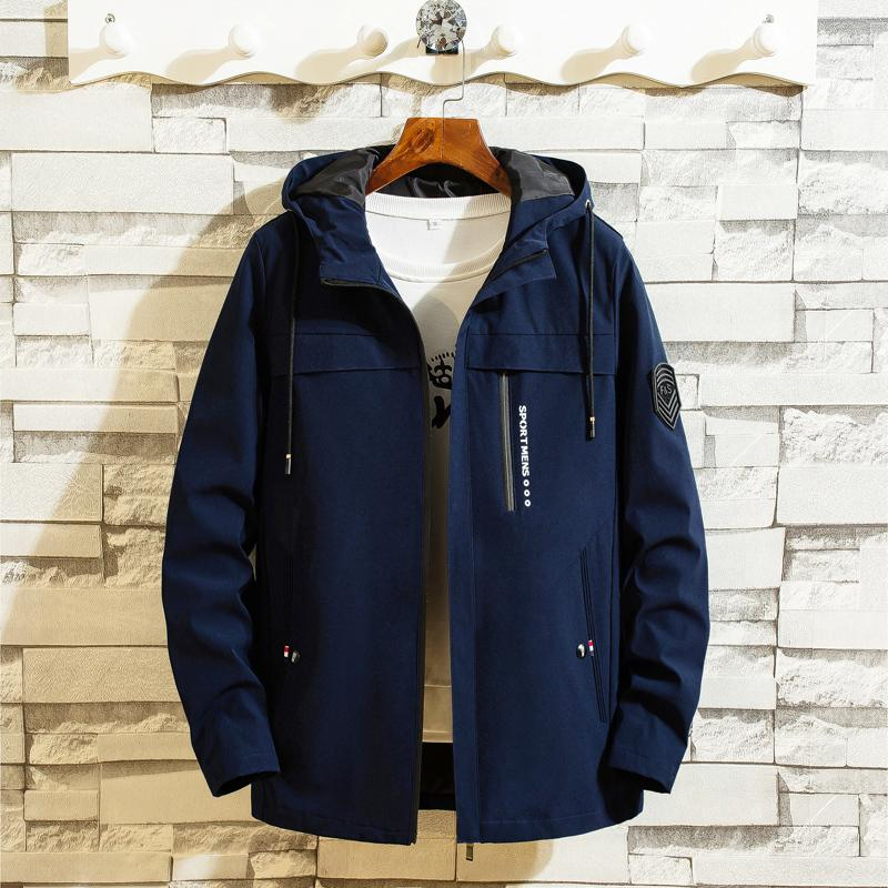 2019 hiver hommes Veste automne mode casual coréenne à capuche Streetwear Homme, plus de vêtements ourterwear taille marque M-4XL T200318