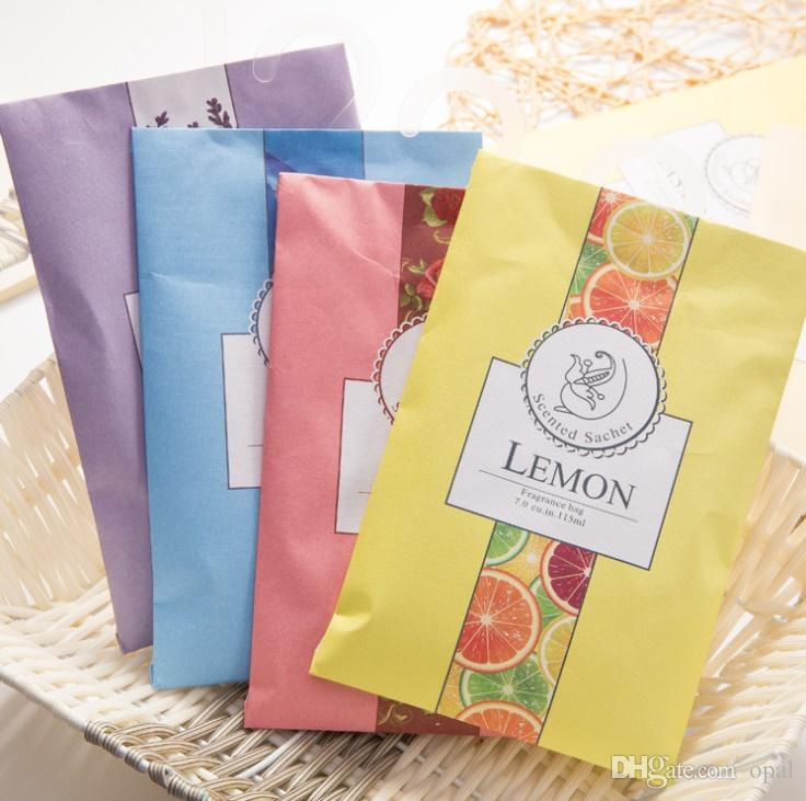 Sachet Bags Fragrant lavender sachet hanging wardrobe closet car odor mildew insect repellent Clothes Fragrant FREE SHIPPING