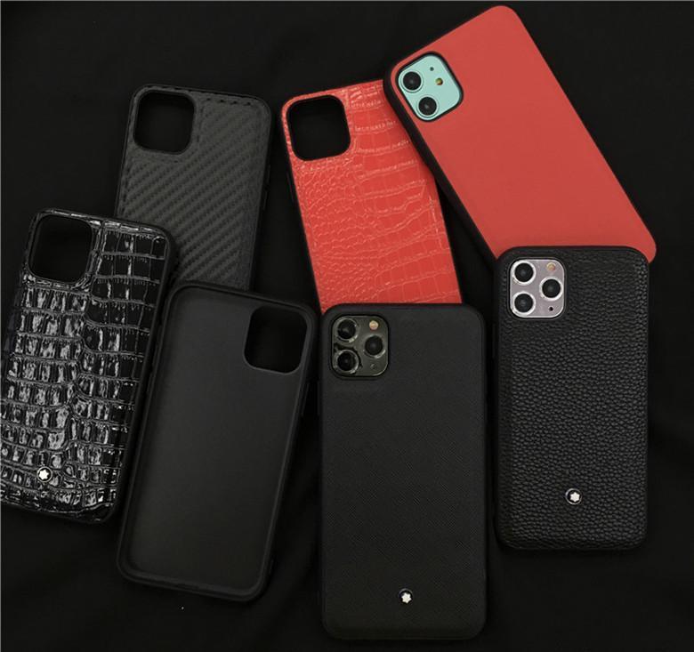 iphone için Tasarımcı Lüks Telefon Kılıfları iPhone X XS için 11 pro TPU Kılıf koruma Kapak Shell XR 8 7 artı Arka Kapak