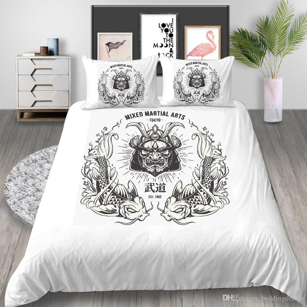 Single Size Bedding Set Martial Arts Style Bull Simple 3d Printed Duvet Cover King Home Deco Queen Double Bed Cover With Pillowcase Bedding Linens Full Duvet Covers From Beddingdream 19 6 Dhgate Com