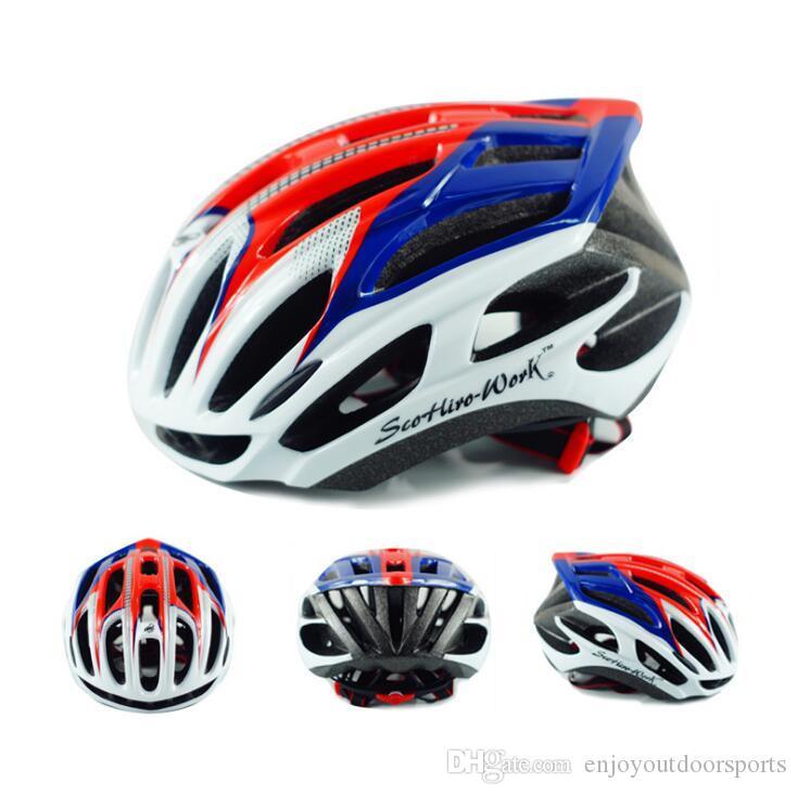 Bicycle Helmets Matte Black Men Women Ultralight Bike Helmets Mountain Road Bike Integrally Molded MTB Cycling Helmets Safety Cap EOS31256
