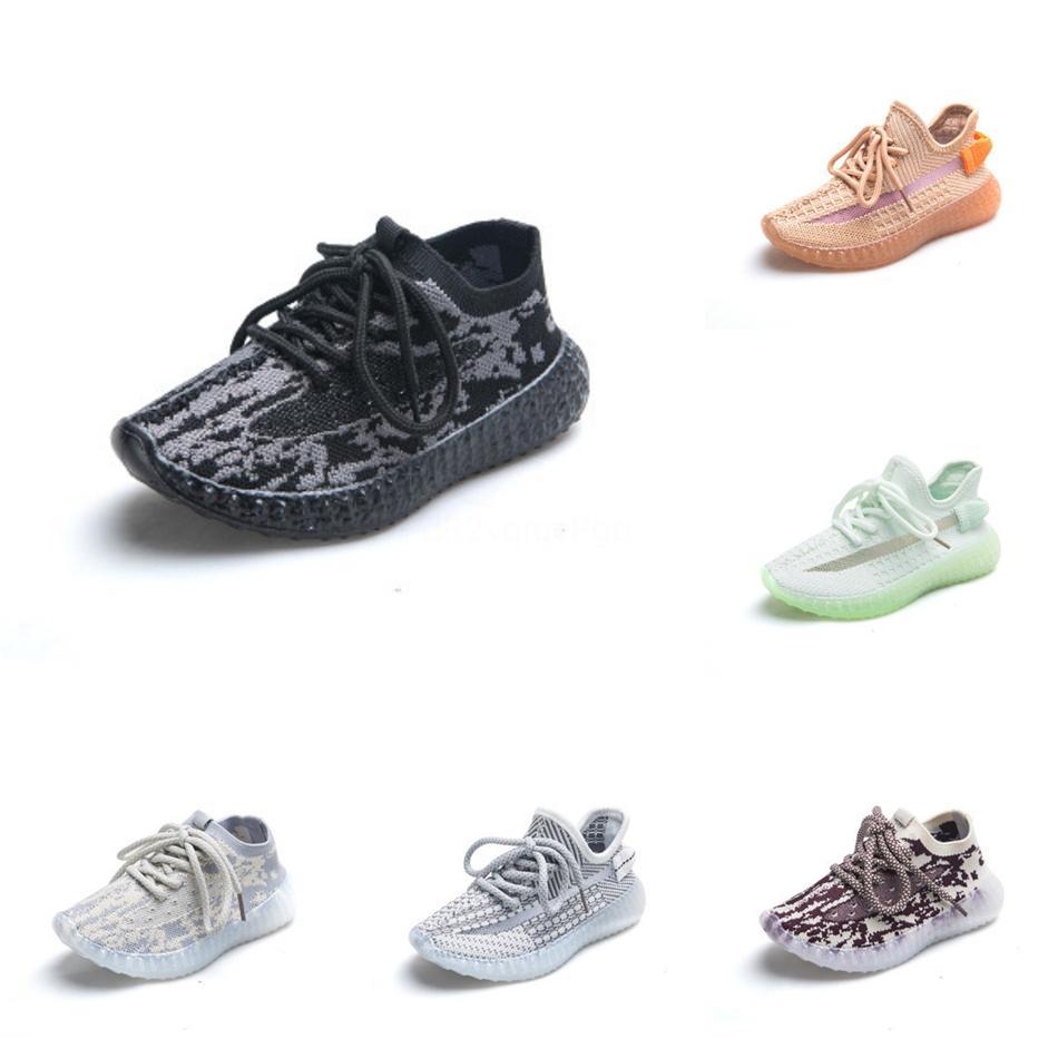 2020 Chaussures Enfants Çocuk Tasarımcı Ayakkabı Bebek Ayakkabı dökün Kanye West Konfor Ayakkabı Erkek Çocuklar Kız Spor Beluga Sneakers # 178