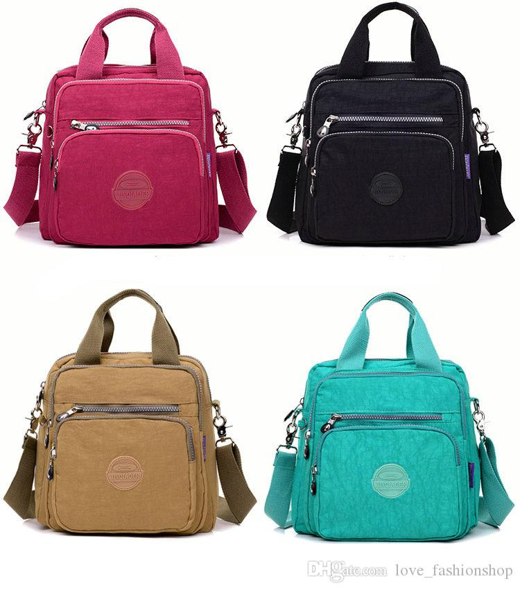9 ألوان الموضة عارضة الأم الظهر متعددة الوظائف الأم قدرة كبيرة حقائب الأمومة حقائب السفر حقيبة التمريض أكياس حفاضات