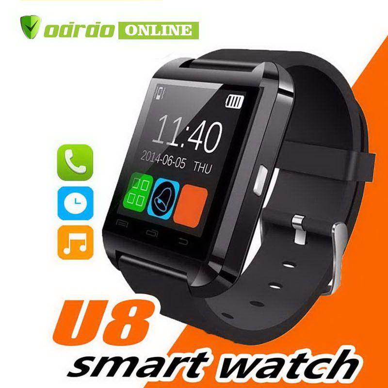 ساعة Cradle Bluetooth U8 Smartwatch ساعات المعصم شاشة تعمل باللمس ل IPhone سامسونج أندرويد الهاتف النوم مراقب ووتش الذكية مع حزمة البيع بالتجزئة