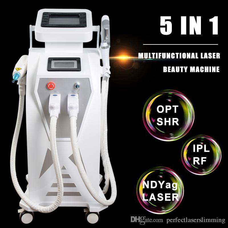 حار بيع! التقيد IPL لإزالة الشعر الدائم ف التبديل الثاني ليزر YAG IPL آلة للاستخدام المنزلي