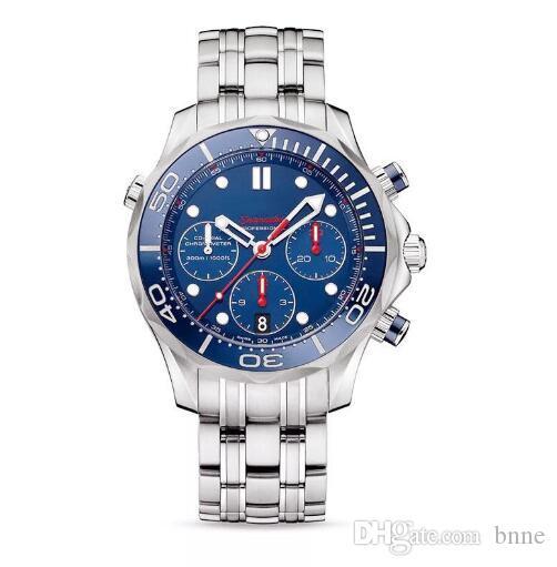 Cuarzo calidad Omeg Seamaste Marca Top reloj de las mujeres de moda reloj de pulsera casual hombre grande de lujo relojes dama claassic un reloj al por mayor