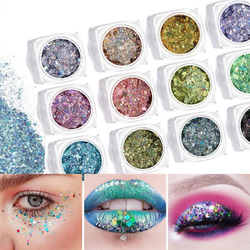 1 Caja de uñas Glitter Flakes sirena 3D colorido de las lentejuelas polaco manicura Nails decoración del arte MV99
