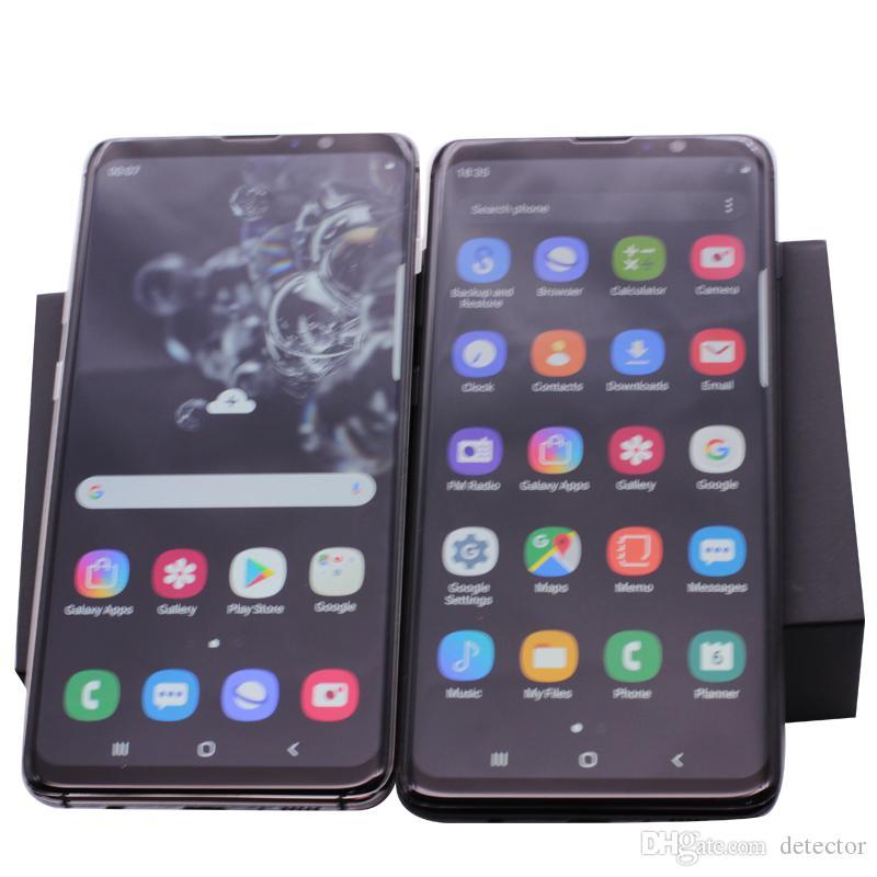 Tela Cheia Goophone S20 Ultra S20 + S10 + N10 + Android 10 No-Display Fingerprint face ID 4 Camera Octa Núcleo 5G Smartphone