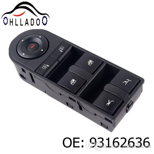 HLLADO New Power Window Switch 93162636 Left Front For V auxhall Opel Tigra Twintop 2004-2016 High Quality