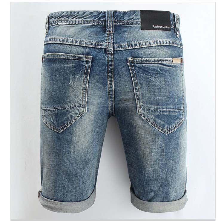 2020 Erkek Tasarımcı Denim Şort Moda Marka Jeans Şort Kot Şort Günlük Ripped Kırpılmış Pantolon 27-44
