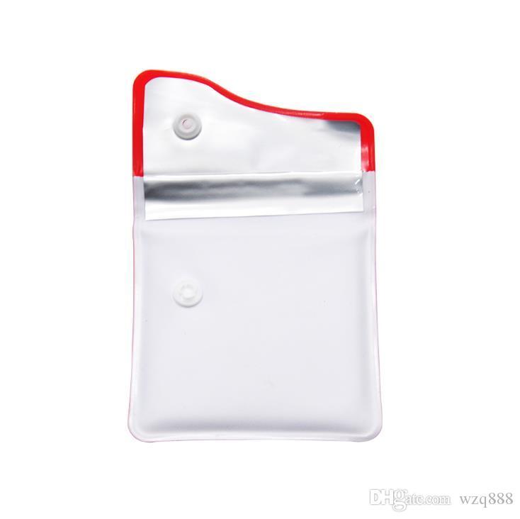 Portable ashtray, high quality plastic ashtray bag, anti-smoking bag, waterproof and easy to wash