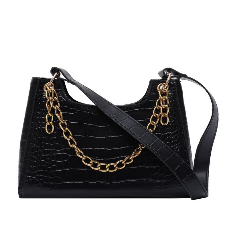 High quality Crocodile Chain Small Bag 2020 New Style Small bag Shoulder Crossbody Women messenger
