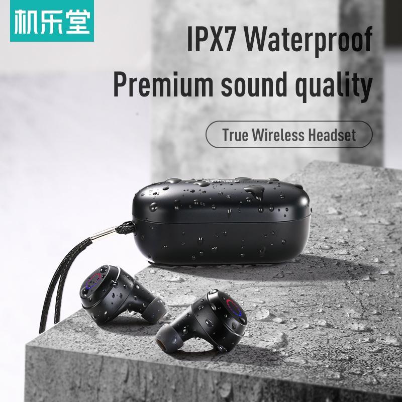 Joyroom TL1 Bluetooth 5.0 TWS Wireless Earphones Deep Waterproof Sports Headset Touch Control In Ear Earphone with Mic Charging Case