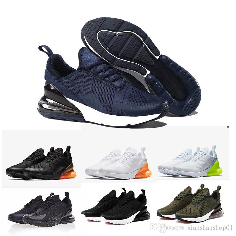Großhandel Nike Air Max 270 Vapormax Max Off White Flyknit Utility Vapormax New Design 2019 Herren Damen Laufschuhe Flair Triple Schwarz C OG PRESTO
