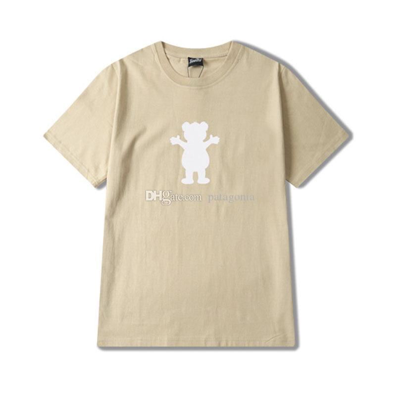 Новая мода Женская футболки Повседневная Женщины Hip Hop Короткие рукава высокого качества Мужчины Женщины Лето тройники