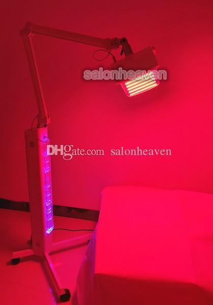 Luminothérapie LED professionnelle machine 7 couleurs PDT LED photodynamique faciale Equipement