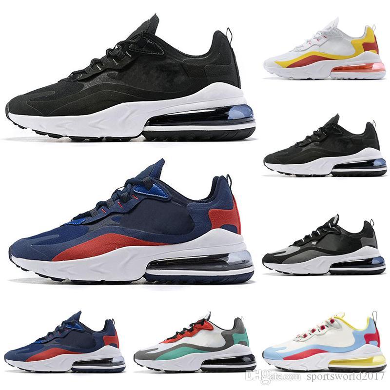 Nike Air Max 270 React Zapatos Para Correr Para Hombres Y Mujeres Zapatos  Bauhaus BAUHAUS OPTICAL Para Hombre Entrenadores Deportes Atléticos Al Aire  ...
