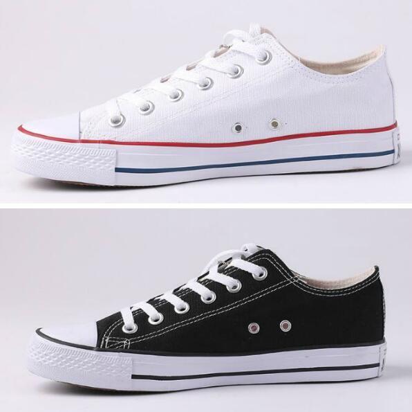 Новая звезда большой размер 35-45 вскользь ботинки Низкий топ звезды Классический Canvas Shoe Мужские / Женские Холст обувь