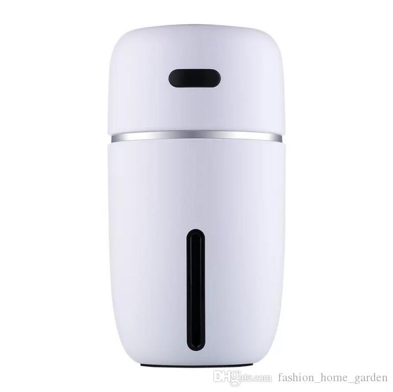 미니 USB 공기 가습기 미니 아로마 디퓨저 LED 공기 기화기 자동차 에센셜 오일 아로마 디퓨저 3688