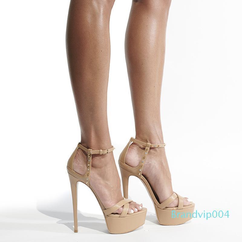 2019 New Fashion Super High Heels Large