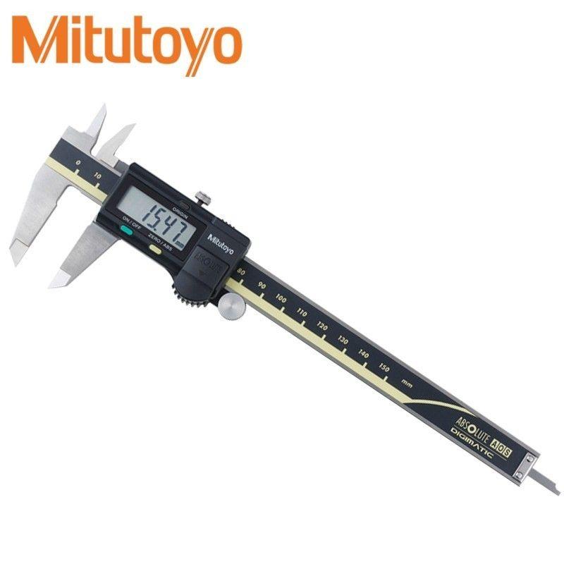 Mitutoyo Цифровой штангенциркуль 0-150 0-300 0-200mm LCD 500 192 20 суппорт Mitutoyo Манометр Электронные измерительные из нержавеющей стали
