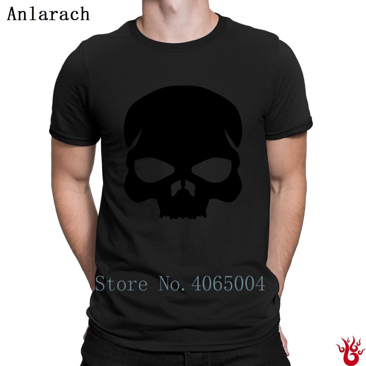 해골 티셔츠 의상 크루 넥 힙합 남성 T 셔츠 여름 짧은 소매 자연 맞추기 재미 캐주얼 디자인