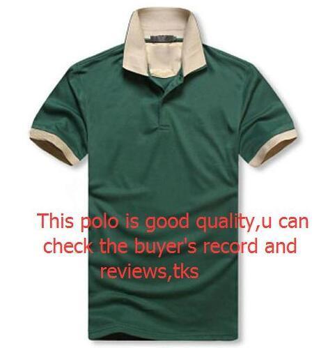 사용 가능한 NEW 남성 클래식 폴로 셔츠 t- 셔츠 핫 세일 여름 느슨한 티셔츠 남성 짧은 소매 자수 폴로 티셔츠 최고 품질 t- 셔츠 M-2XL