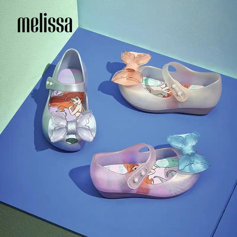 مصغرة ميليسا Ultragirl يتل ميرميد فتاة جيلي أحذية صنادل 2020 أحذية NEW الطفل لينة ميليسا الصنادل للأطفال عدم الانزلاق