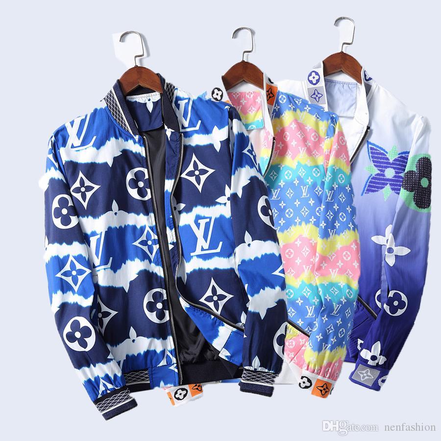 Paris giacca designer classica lettera stampa giacche sportswear cerniera intera maschile cappotto felpa classico uomo donna coppia progettista vestire