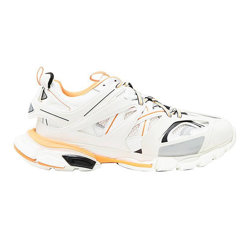 2020 Pista Formadores caliente zapatillas Release 3.0 Tess S París Triple S Gomma Trek zapatillas de deporte de los hombres formadoras cestas papá zapatos casuales con cuadro