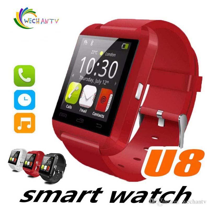 U8 Bluetooth Montre Intelligente Passomètre Altimètre Lecteur de Musique Montre-Bracelet Télécommande Contrôle Sport Montre