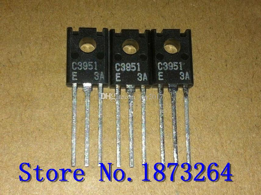Frete grátis C3951 2SC3951 TO126 original e novo 10 PÇS / LOTE