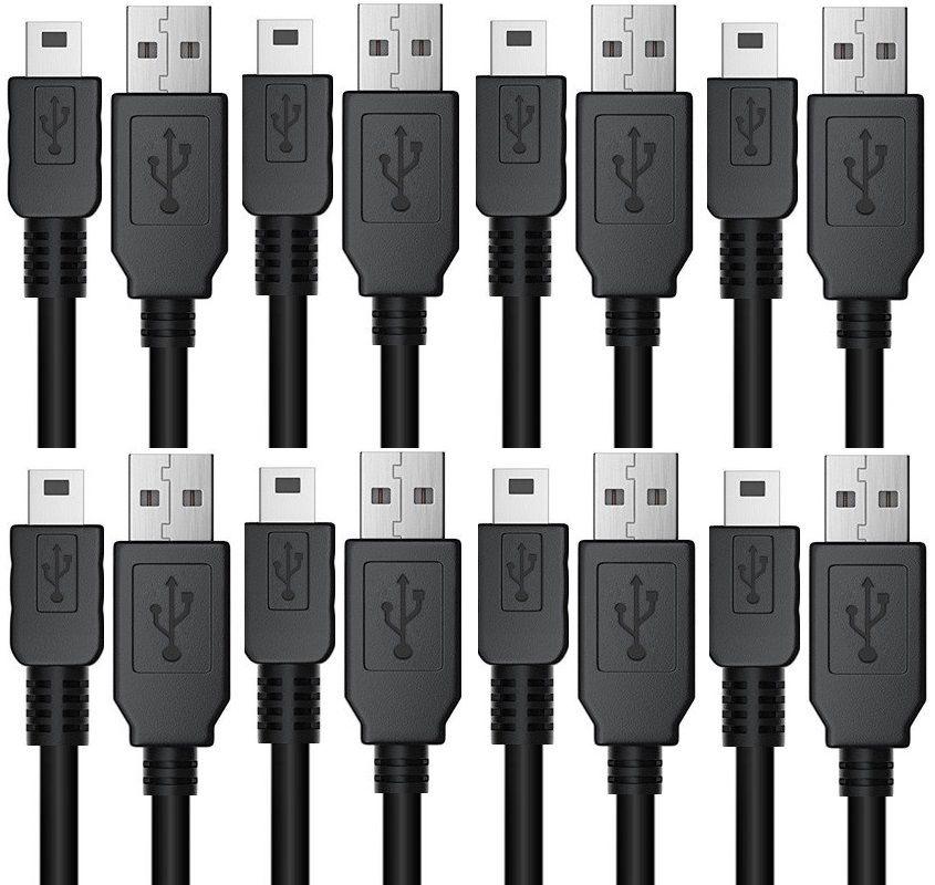 Mini 5 pinos USB cabo 70 centímetros Comprimento 0.7m Mini cabos 5pin carregador para mp3 mp4 dvr player de mídia da câmera