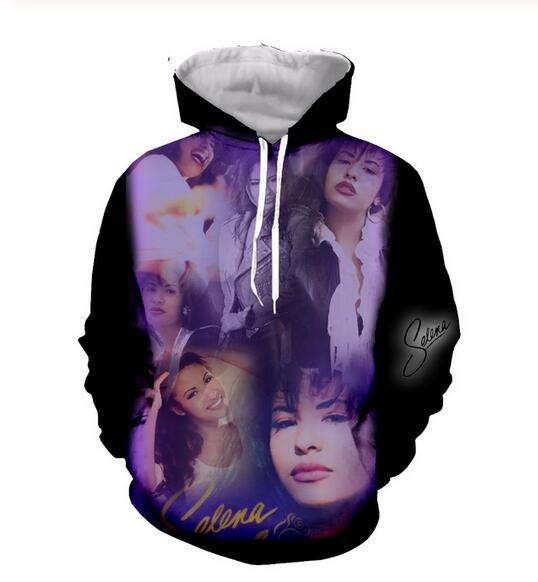 Mens Designer Hoodies für Frauen Männer Paare Sweatshirt Lovers 3D selena quintanilla siger Hoodies Coats Hoodies Tees Kleidung