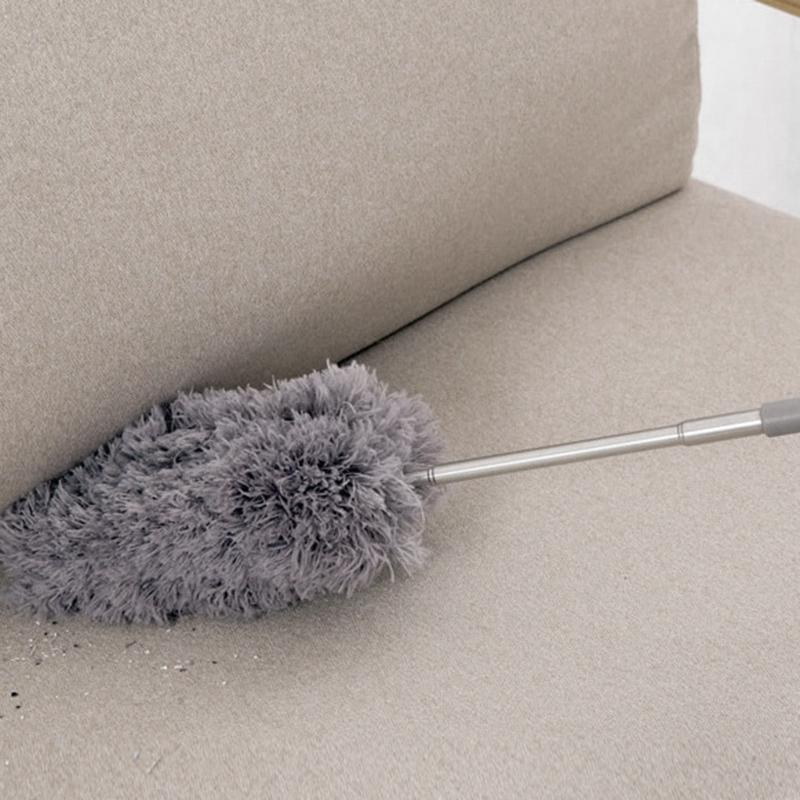 ousehold Temizleme Araçları Aksesuarlar Dusters Pratik Mikrofiber Toz Çekilebilir Ev Temizleyici Tüy Duster Araç Libero F ...