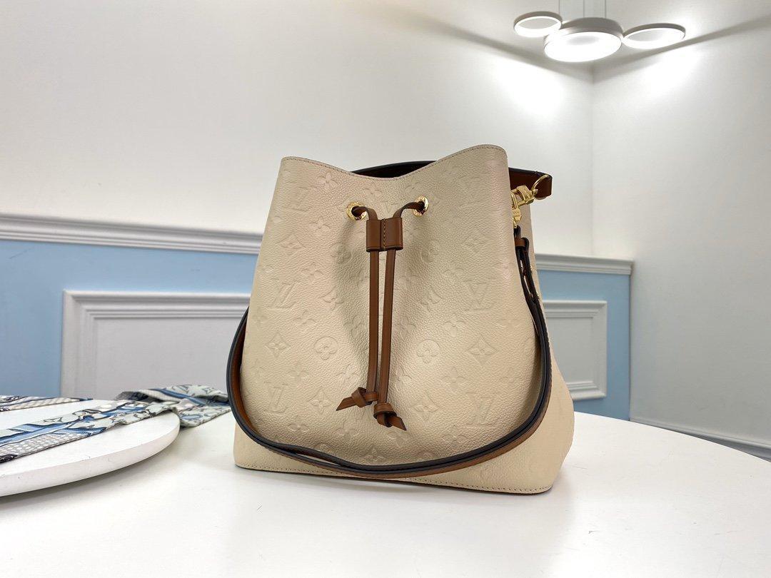 2020 NéoNoé M45256 design en cuir véritable sac à main de luxe sacs à main achats messenger Sac shopping épaule sac poches Totes Sac cosmétique