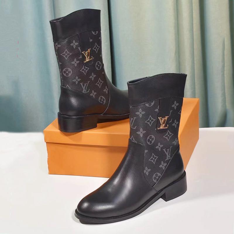 Kadın Vintage Martin Boots Deri Fermuar Bilek Boots For Women Kısa Kovboy Motosiklet Boots Kadın Ayakkabı Moda Tipi Bottes Femmes Satış