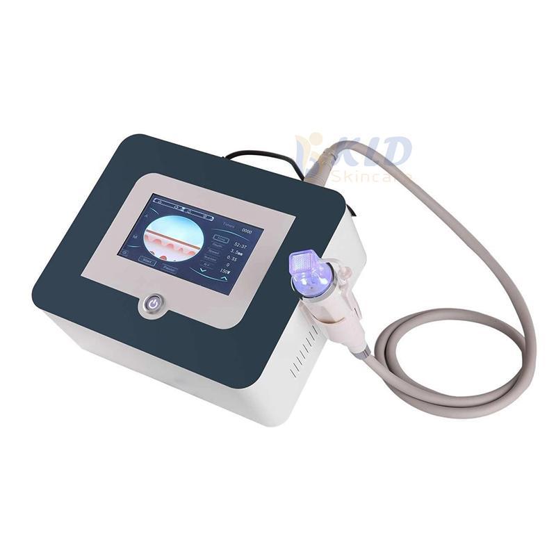 Portable frazionale RF Microneedle macchina di sollevamento viso Oro ago Micro cicatrice Smagliature Trattamento sistema di aghi RF