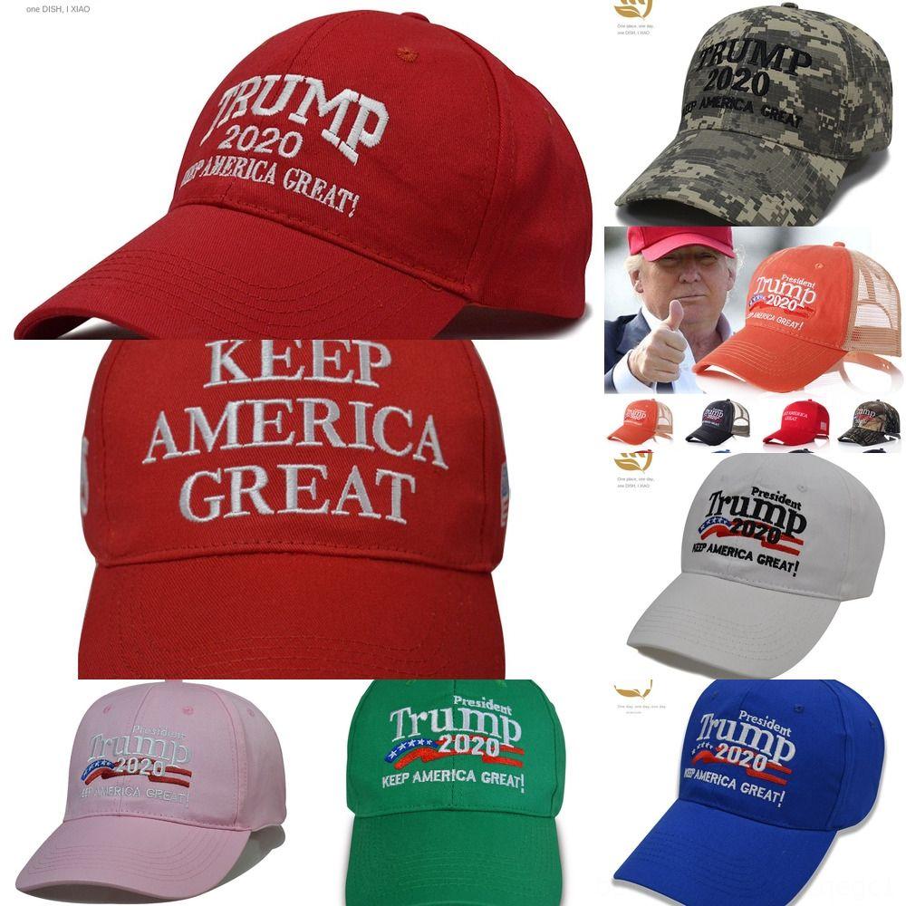 HeTQl Supporto Cappello Trump Donald 2020 Caps Baseball America Elezioni DHL Trump cappello del ricamo del cappello di sport Viaggi sfera esterna
