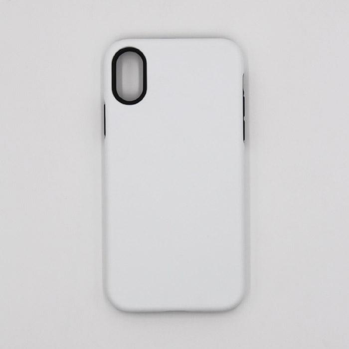 Пустой 3D сублимации 2 в 1 чехол для iphone 6 6 плюс 7 7 плюс 8 8 плюс X бесплатная доставка