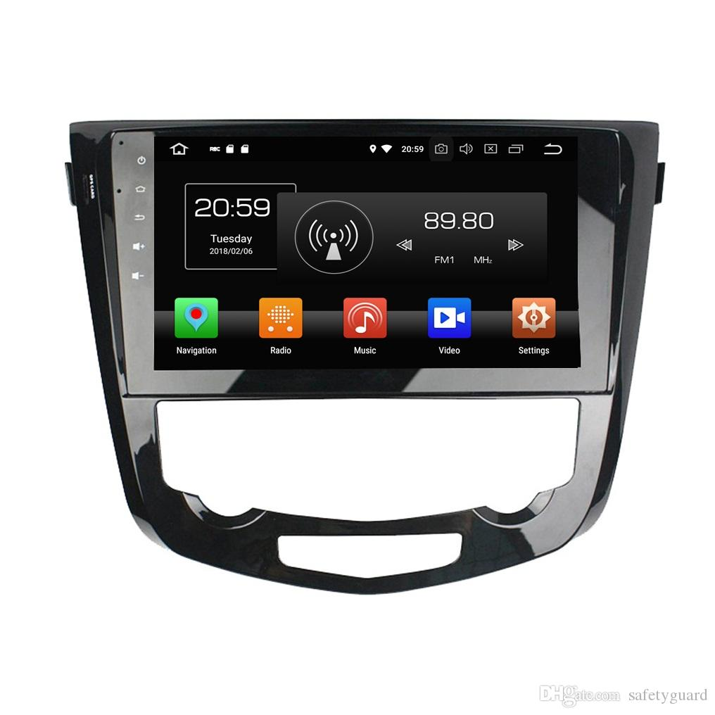 "4GB + 32GB ROMOcta 코어 10.1 ""닛산 Qashqai X-Trail 2014 2015 2016 2017 용 Android 8.0 차량용 DVD 라디오 GPS Bluetooth WIFI USB Mirror-link"