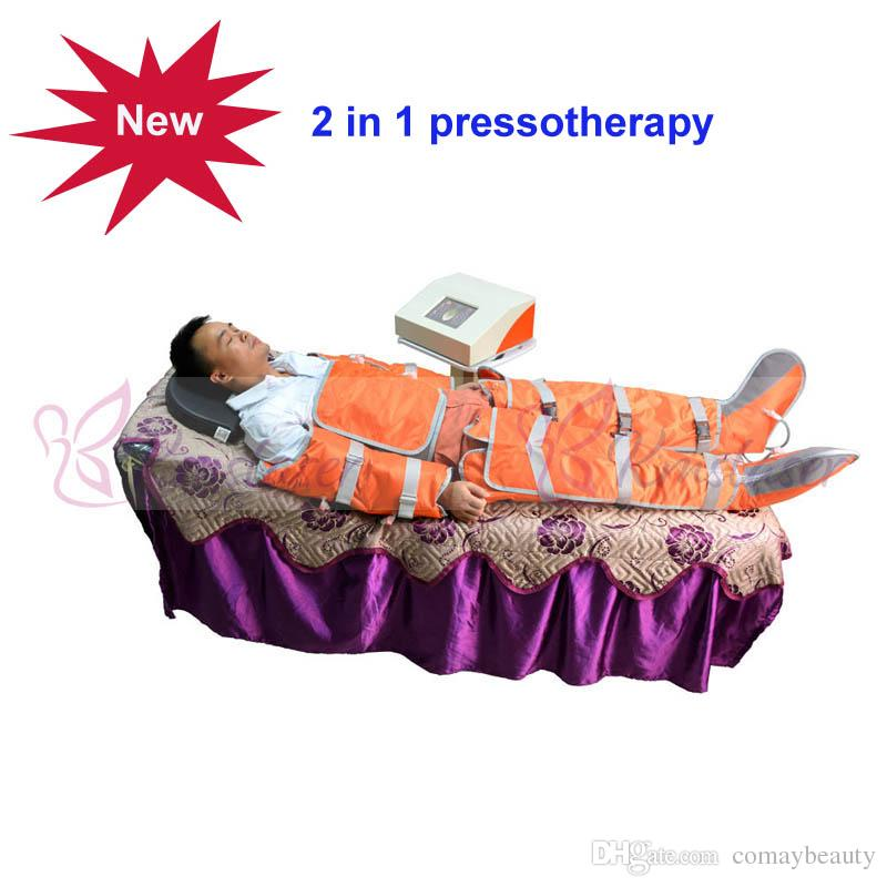 2 in 1 Infrared light air pressure pressotherapy Far Infrared Body Massage Weight Loss Pressotherapy lymphatic drainage machine
