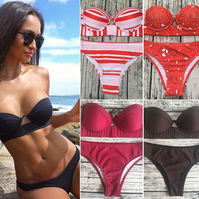 siyah sert paketi bölünmüş mayo bayanlar mayo bikini bikini mayo mayo mayo Toplulukları de femmes yaz elbiseler bathi Womens