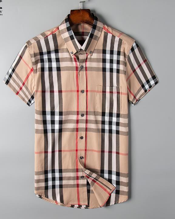 chemise casual hommes nouveaux d'été fraîche respirant col carré manches courtes de haute qualité chemise confortable, livraison gratuite