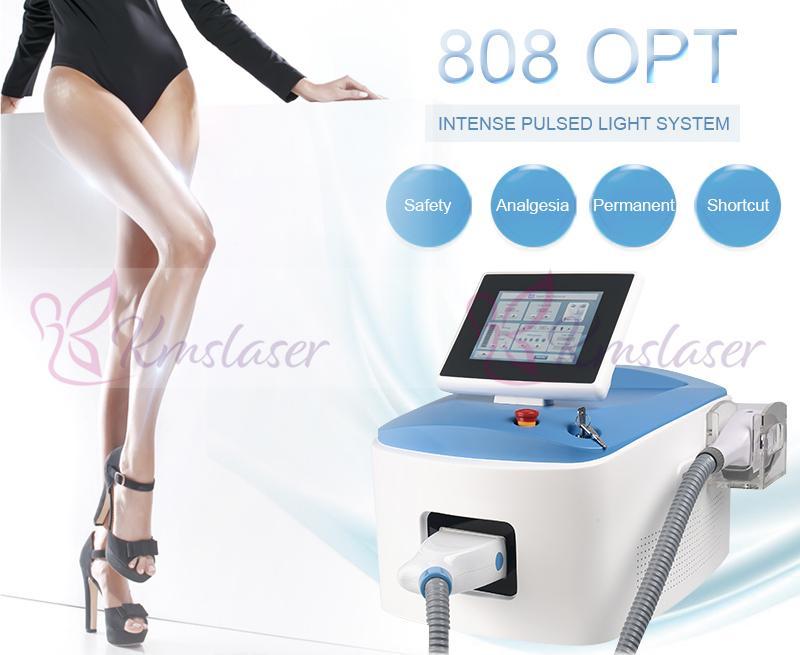 CE 승인 공장 가격 전문 고통 빠른 영구 스파 살롱 ICE 다이오드 레이저 IPL OPT 머리 제거 기계