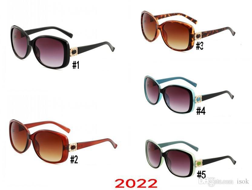 10pcs, 2022 lunettes de soleil designer de luxe Cadre Qualité Surdimensionné Printemps Hommes Lunettes De Soleil Femmes Brand Design Goggle Mâle Lunettes De Soleil Conduite