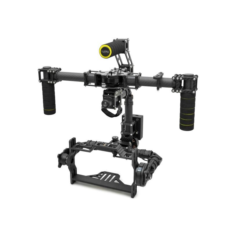 3 Axis Brushless 3K Full Carbon Fiber DSLR Handheld Stabilized Gimbal Camera Mount with DYS Motor and Controller