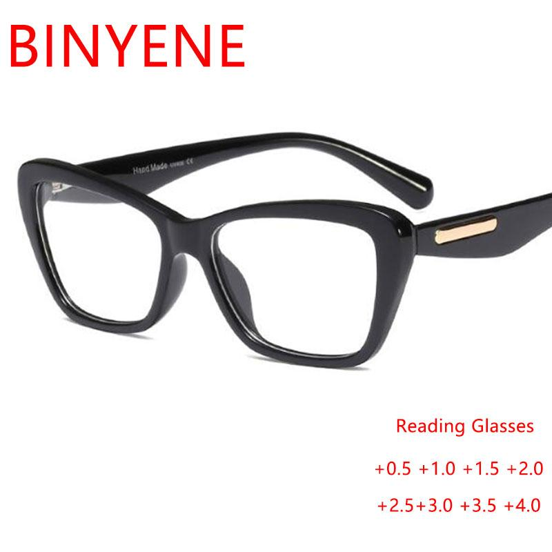 Unisex High Quality Vintage Reading Glasses PC frame Points -1Transparent Spectacle Frames Men Eye Glass Black Accesorios mujer